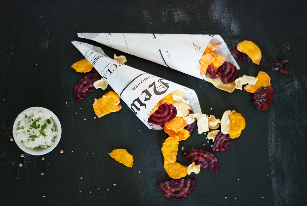 chips de légumes - idées apéro sain