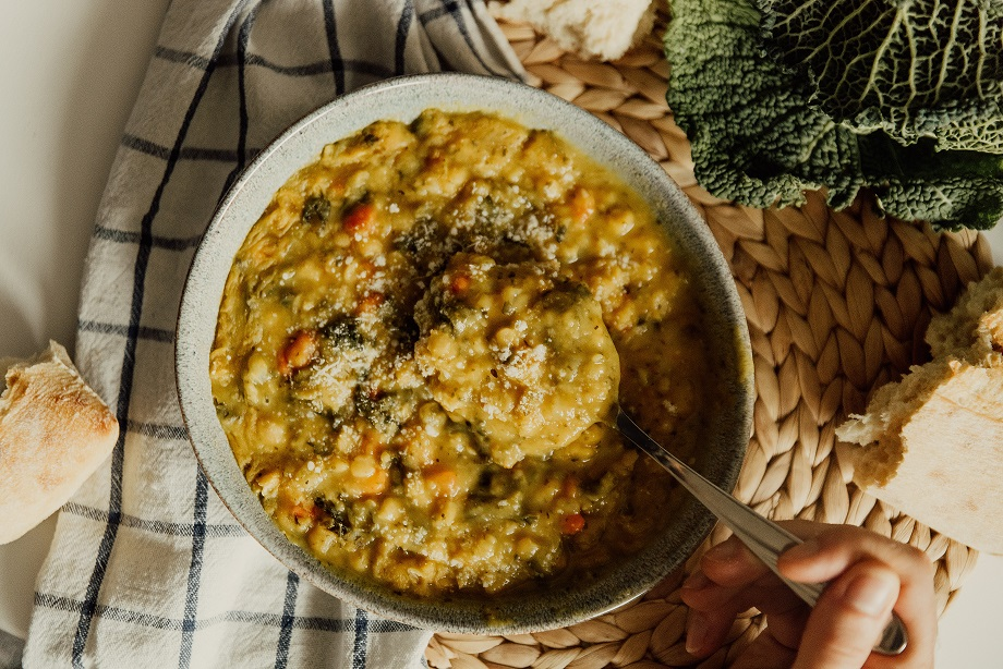 dhal de légumes curry brocoli